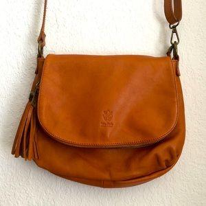 Vera Pelle Italian leather bag